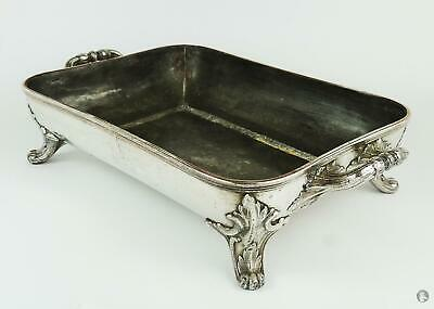Smart WILLIAM IV OLD SHEFFIELD PLATE HOT WATER SERVING DISH c1830 Repaired
