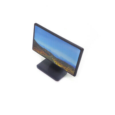 1:12 Scale Miniature Dollhouse Flat Screen TV With Picture Furniture Accessories