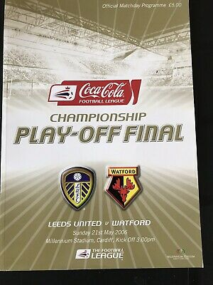 Coca-Cola Championship Play-Off Final 05/06, Leeds United V Watford