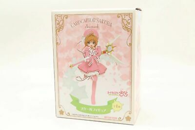 Anime CardCaptor Sakura Clear Card Sakura Kinomoto Figure Toy New In Box 17cm