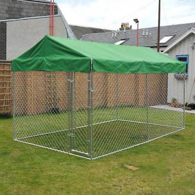 Waterproof Cover Sunshade for Galvanised 2 in 1 Dog Run Cover Only 10ft