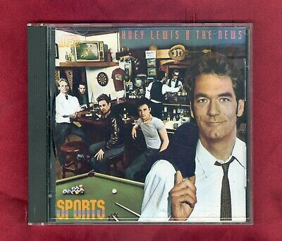 Huey Lewis & The News - Sports CD 1984 VK 41412 8 Tracks VG