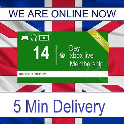 XBOX LIVE 14 DAYS DAY - Gold membership subscription code - 2 weeks pass