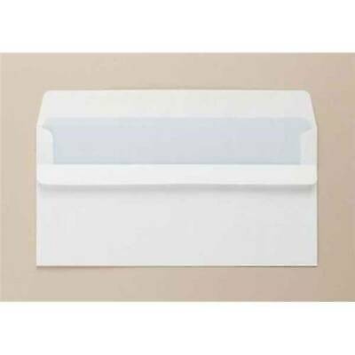 Opportunity White DL Envelopes Self Seal 85gsm (Pack of 1000) Plain (8772)