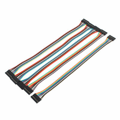 5PCS DIY Female to Female 9P Jumper Wire Ribbon Cable for Breadboard