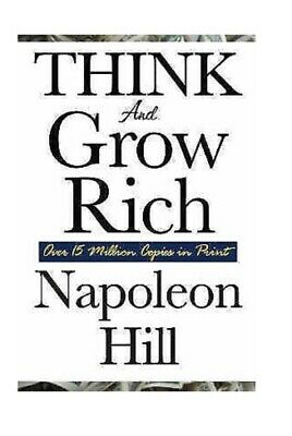 Think and Grow Rich by Napoleon Hill (eBook-PDF file +resell rights )