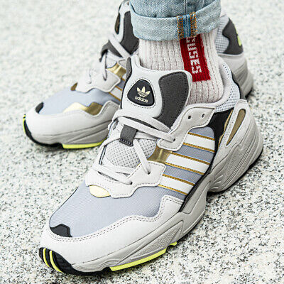 ADIDAS YUNG 96 chaussures hommes sport loisir baskets gris
