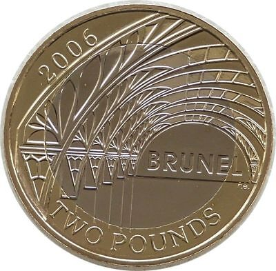 2006 Royal Mint Isambard Brunel Arch BU £2 Two Pound Coin Uncirculated
