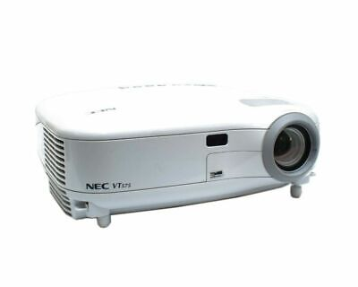 NEC VT575 Projector 1600 x 1200 1168 LAMP HOURS White