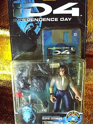 1996 Independence Day D4 David Levinson Action Figure Trendmasters