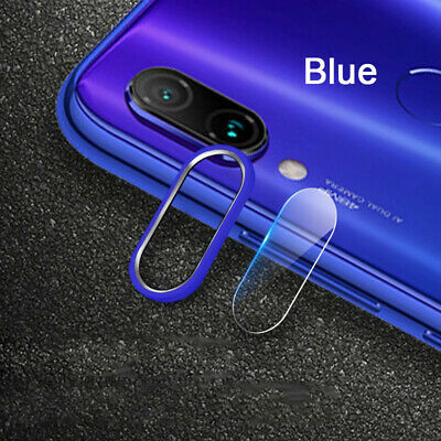 For Xiaomi Redmi Note 7 Back Camera Protector Lens Case Ring Cover+Glass Film il