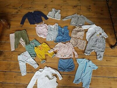 baby girl bundle 6-12mth next zara boden marks and spencer