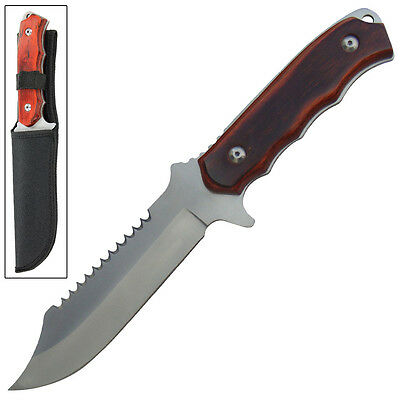 Branson Small Game Wilderness Full Tang Fixed Blade Outdoor Hunting Knife