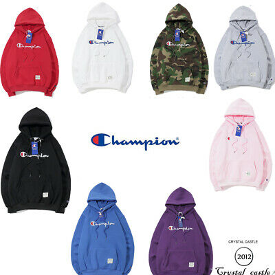 Casual Hooded Sweatshirt Champion Brand Hoodie Loose Hip Hop Style Jacket Coat