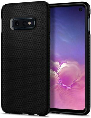Galaxy S10e Case, Spigen Liquid Air Slim Enhanced Grip Cover - Matte Black