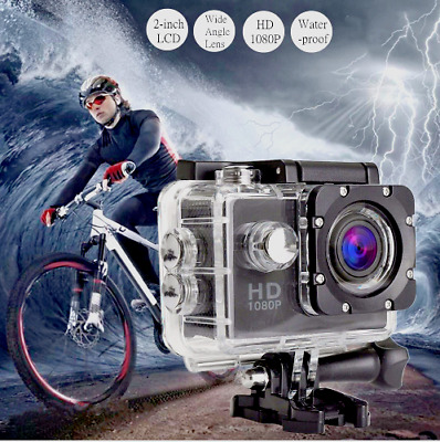 New Full HD Action Camera Sport Camcorder Waterproof DVR 1080P/4K  Go Pro
