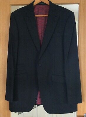 SIZE 42L BNWT RRP £240 Ted Baker Endurance Sovereign Pure Wool Black Jacket