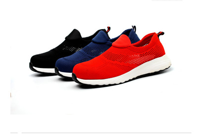 Mens Ladies Women Ultra Lightweight Steel Toe Cap Safety Work Shoes Trainers Ppe