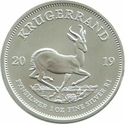 2019 South Africa Krugerrand Silver 1oz Coin Uncirculated