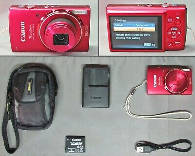 Canon Powershot Elph 150 Is 20.0 Mp Digital Camera + Accessories