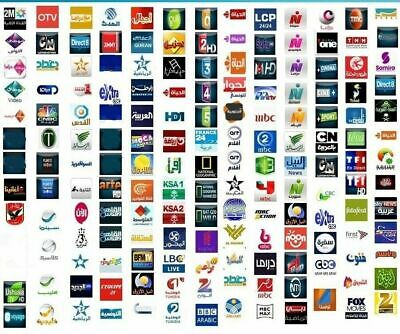 FOX STAR IP50 Over 1000+ Channels Arabic IPTV  NO Monthly Fee / 1