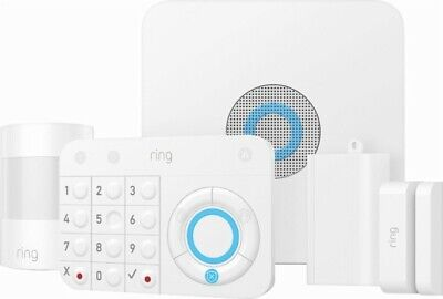Brand New Ring Alarm 5-Piece Home Security System - White