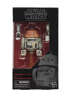 Star Wars The Black Series Chopper 6 Inch Action Figure In Stock!