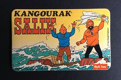Tintin Sticker Salik Kangourak Tintin and Haddock Sea near Mint (NM)