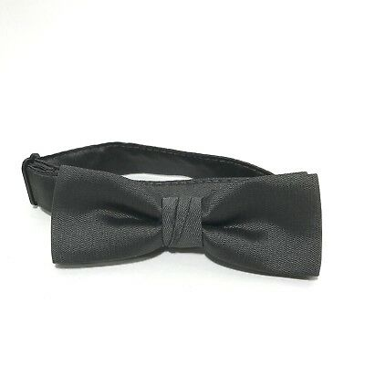622a85f7e57e Vintage Bow Tie Mens After Six New Old Stock Pre Tied Gray Wedding Prom NOS