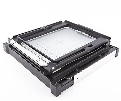 "Sinar P 5x7"" ground glass back + frame. Fits P or P2 - 5x7/13x18cm"