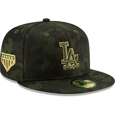 ff2ce3e26807d6 Los Angeles Dodgers New Era 2019 Armed Forces Day On-Field 59FIFTY Fitted  Hat