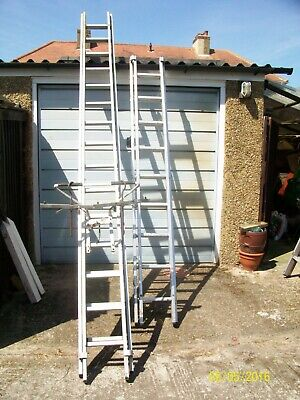 Ladders + roof clamps + roof rack