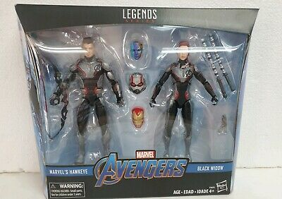 Marvel Legends Avengers Endgame Hawkeye and Black Widow Target Exclusive