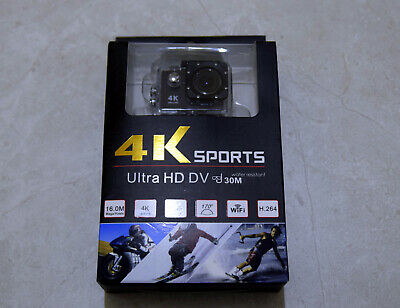 4K Ultra HD DV WiFi Action Camera 16MP 30m Water Resistant
