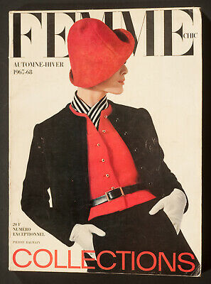 'Femme Chic' French Vintage Magazine Collections Issue Autumn-Winter 1967