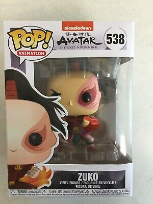 Funko Pop! Animation 538 Avatar The Last Airbender Zuko MINT in hand