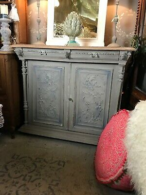 A Pair Of French Buffet Cabinet/cupboards