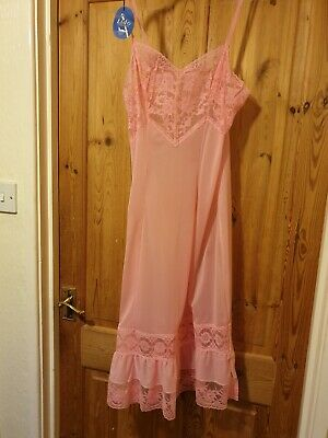 Beautiful Vintage Pink Petticoat By Lido Bnwt 34 Ins Chest