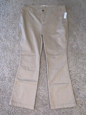 New DONNKENNY Womans Size 10R,10S,10P /& 10PS  Navy Blue Pull on Gabardine Pants
