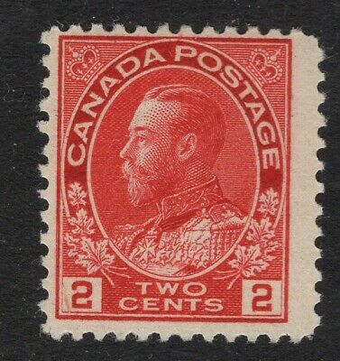 """Canada #106 2c MNH OG     """"ADMIRAL"""" ISSUES    FINE"""