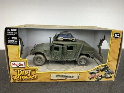 Hummer Humvee Dirt Riders Die Cast 1/27 By Maisto 32137 New