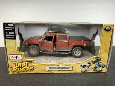 HUMMER H3T Concept DIRT RIDERS DIE CAST 1/26 BY MAISTO 32131 NEW