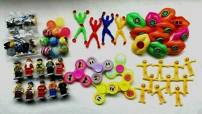 100 Party Bag Toys Childrens Kids School Gift Party Pinata Fillers Assorted Toys