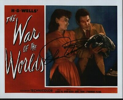 "ANN ROBINSON Hand Signed Autographed 8x10"" Photo w/COA - THE WAR OF THE WORLDS"