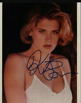 "KRISTY SWANSON Hand Signed Autographed 8x10"" Photo w/COA - BUFFY"