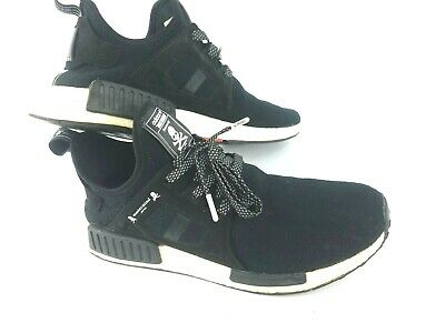 the latest 0dfd5 ffd40 ADIDAS MASTERMIND JAPAN NMD XR1 Men's Skull Black White Athletic Shoes SZ  10.5