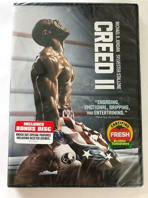 NEW Creed II DVD Michael B Jordan Sylvester Stallone