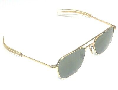 American Optical Ao 1-10 12K Gf Gold Vintage Aviator Sunglasses 18D