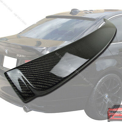 Carbon For E90 3-Series Saloon For BMW Saloon Roof Spoiler M 328i 335d 2011