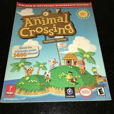 Prima Animal Crossing Strategy Guide Book 2001